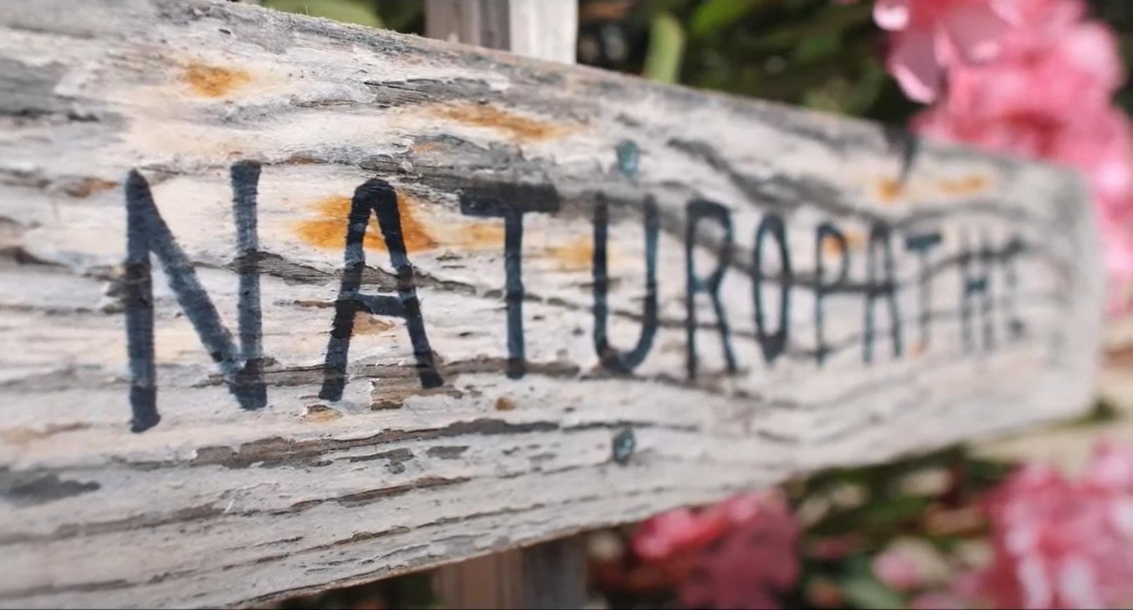 Panneau Naturopathie